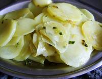 Batatas Laminadas (vegana)